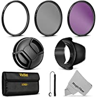 55MM Professional Lens Filter Accessory Kit for AF-P DX 18-55mm f/3.5-5.6G VR