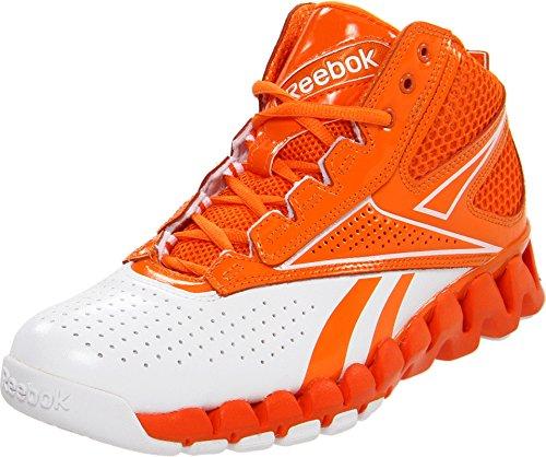 Reebok Zig Pro Future Women's Basketball Shoe (9.5, White/Orange) (Reebok Mens Zig Pro Future Basketball Shoe)