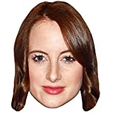 Celebrity Cutouts Rosie Fortescue Big Head. Larger Than Life mask.