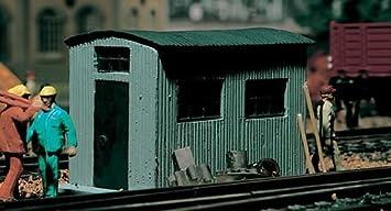 Vollmer H0 5743 - Caseta de chapa ondulada para maqueta
