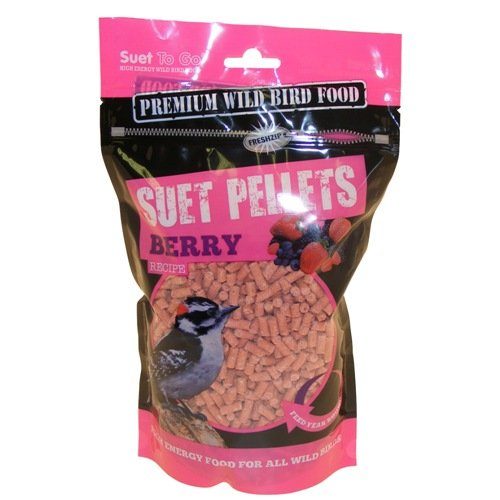 Suet To Go, Suet Pellets, Berry Flavour. 6 x 550g. Unipet Internatuional