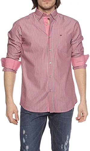 State of Art Camisa REGULAR FIT para hombre, Color: Fucsia, Talla: 3XL: Amazon.es: Ropa y accesorios