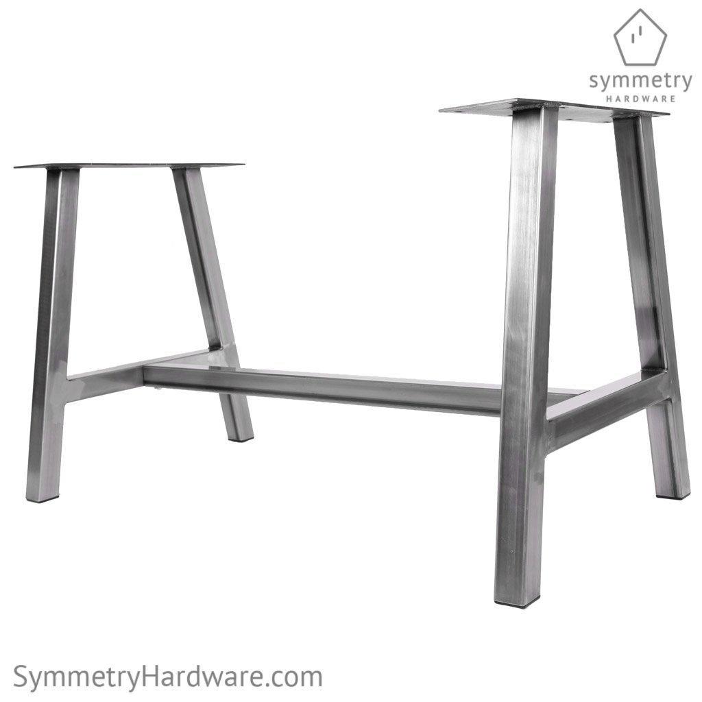 Amazon.com: Metal Dining Table Base - The \'Alpine\' - 1 WHOLE ...