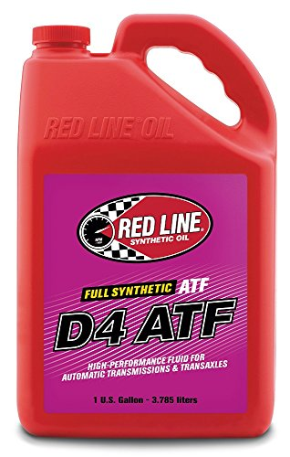 Red Line 30525 D4 Automatic Transmission Fluids - 4/1 Gallon by Red Line Oil