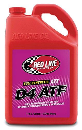 (Red Line 30525 D4 Automatic Transmission Fluids - 4/1 Gallon)