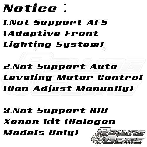 Black Headlight Headlamp Projector For BMW E90 E91 3-series