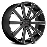 Set of 4 Giovanna Wheels Santoneo Black Machine 26x10.5 6x139.7 +32 Offset 78.1 Hub