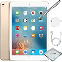 Apple iPad Pro 9.7 Inch Wi-Fi 256GB Gold + Quality Photo Accessories (Latest Apple Tablet) 2016 Model …