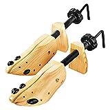 Z-COMFORT Wood Shoe Stretcher 2 Pack, Brown, 53.86g