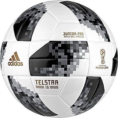 adidas World Cup J290 Balón, Hombre, Blanco/Negro/Plamet, 4 ...