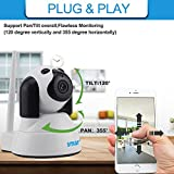 LFM Doggy 720P WIFI IP Camera Home Security Wireless Smart Dog Wi-Fi CCTV Surveillance Camera Pet Baby Monitor Infrared Night Vision( No SD card inside)