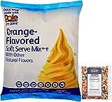 Dole Orange Lactose-Free Soft Serve Mix 4.4 Pound