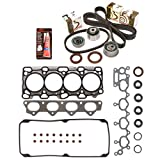 4g64 cylinder head - Evergreen HSTBK5040 Head Gasket Set Timing Belt Kit 99-05 Dodge Mitsubishi Chrysler 2.4 SOHC 4G64