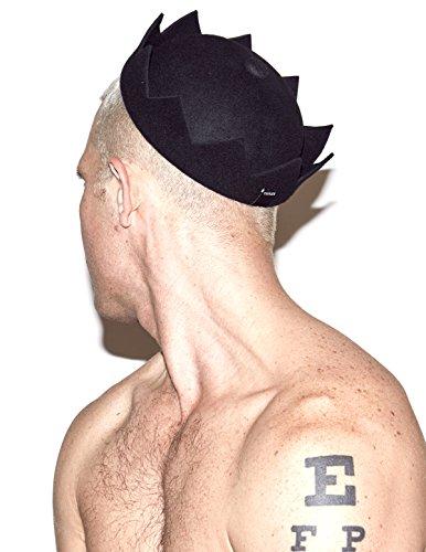 Jughead Crown Hat 100% Wool 96e924b3ff8