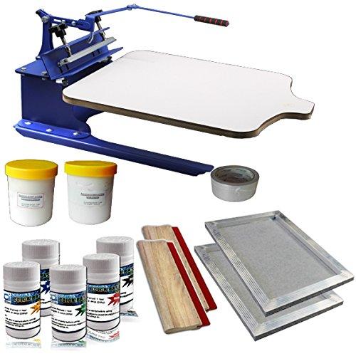 Single Color Screen Printing Hobby Kit-006953 by Screen Printing Kits