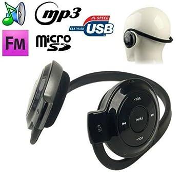 EspaceGeek-Auriculares deportivos para reproductor de MP3, audio ...