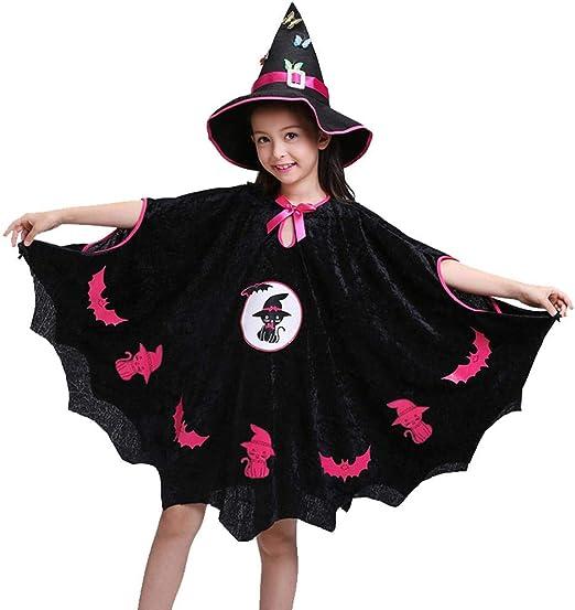 Ecisi Vestido de Bruja mágica para niños de Bruja, Disfraces de ...