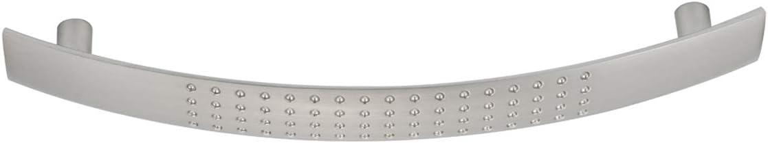 centre des trous 96 mm Nickel satin/é Basics AB4200-SN-10 Poign/ée de placard Longueur 122,5/mm