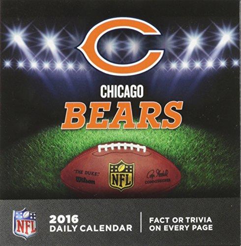 Chicago Bears 2016 Calendar