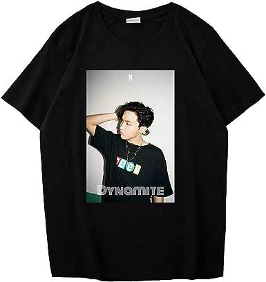 J-Hope Jimin Jin Kpop Concert Kpop Shirts Suga BTS Cute Vintage Unisex T-Shirt With RM V Kpop Merch Jungkook