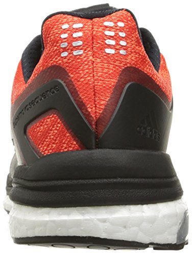 Adidas Performance Mens Supernova Sequence 8 Black / White / Bold Orange