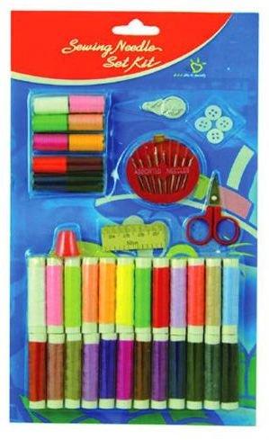 40 Pc Sewing Kit With Needles Scissors 96 pcs sku# 1784318MA by DDI