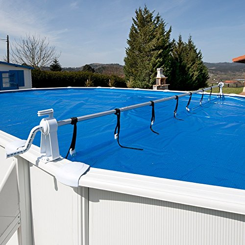 International Cover Pool Enrollador de Manta Solar para Piscina Desmontable Telescópico MAX 6, 50 Metros: Amazon.es: Jardín