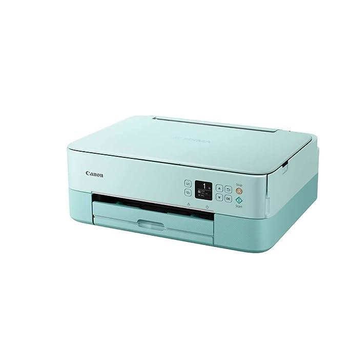 Impresora Multifuncional Canon PIXMA TS5353 Verde Wifi de inyección de tinta