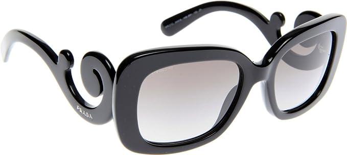 Gafas de Sol Prada PR 27OS MINIMAL BAROQUE BLACK GRAY ...