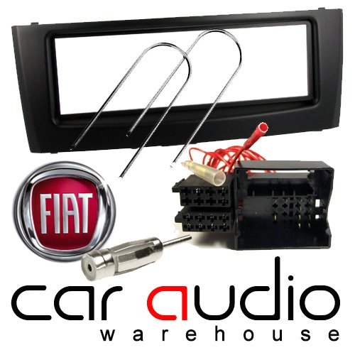 T1 Audio Fiat Grande Punto (2005 onwards) Facia Pack - Includes a Black Facia Adapter, Removal Keys, Aerial Adapter and ISO wiring harness.: Amazon.co.uk: Electronics