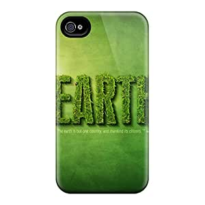 Tpu Case For Iphone 4/4s With Ekc14563SPmH RogerKing Design