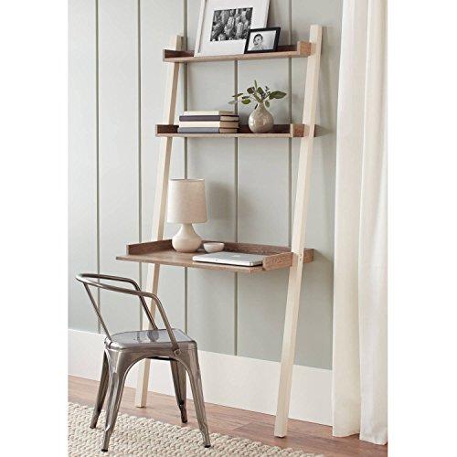 Ladder Bedford - Better Homes & Gardens Bedford Leaning Desk, Multiple Colors, Ivory