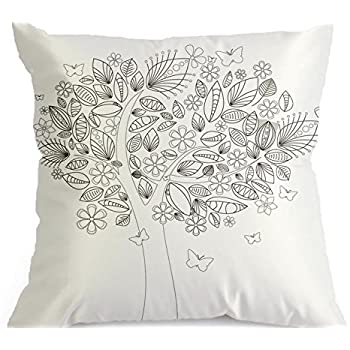 Amazon.com: Doodle Pillowcase, Color Your Own Pillow Case ...