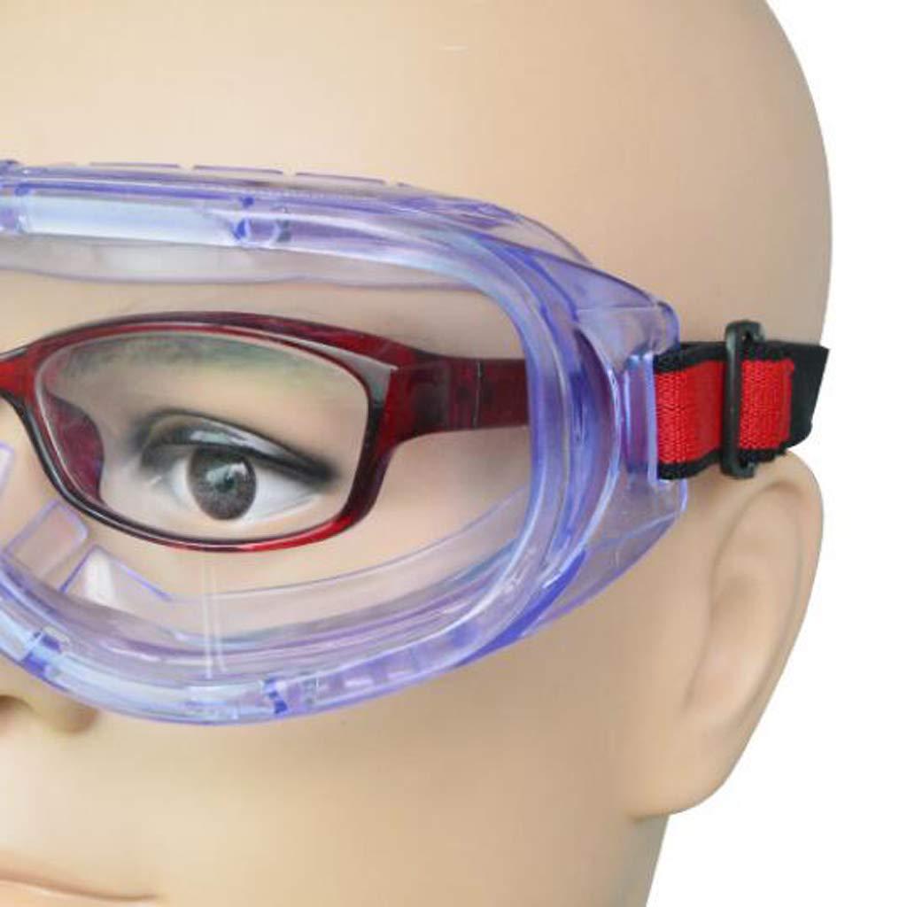 PETSOLA Gafas De Seguridad Salpicaduras De Productos Qu/ímicos Para Hombres Gafas Protectoras Para Ni/ños Laboratorios De Trab Ni/ños En Casa Mujeres Aula
