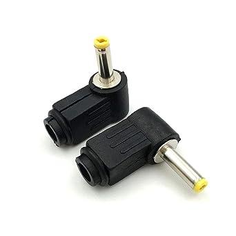 5x 1.7mm x 4.0mm Male DC Power Plug Tip Jack Connector Laptop