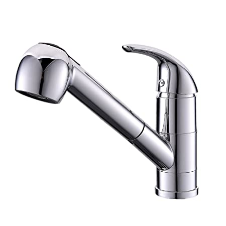 VAPSINT® Highly Recommended Single Lever Chrome Pull Out With Spray ...