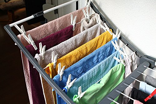 Home Comforts Laminated Poster Laundry Clothes Drying Rack H