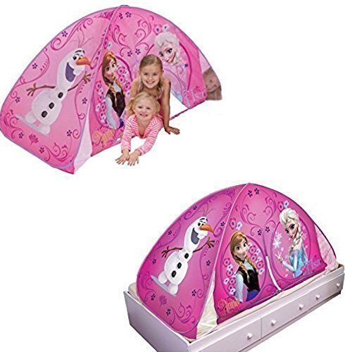 Playhut Disney Frozen 2 in 1 Light Up Play Tent / Bed Tent - Kids by Disney
