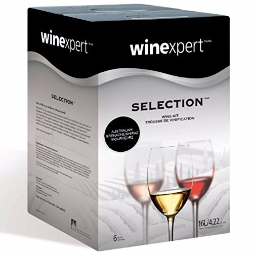 Midwest Homebrewing and Winemaking Supplies HOZQ8-1632 Australian Grenache/Shiraz/Mourvdre (Selection International), (Australian Shiraz Wine)