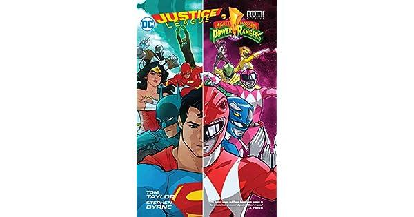 Amazon.com: Justice League/Power Rangers (9781401285159 ...