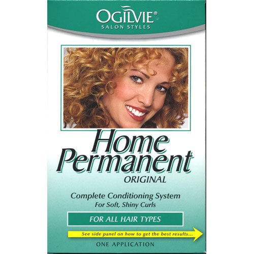 (Ogilvie Home Permanent Complete Conditioning System for Soft, Shiny Curls for All Hair Types, One Application)