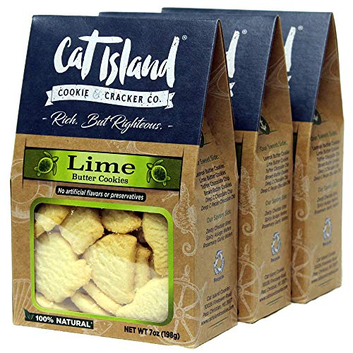 Lime Butter Cookies - 3 Pack. Distinctly sub-