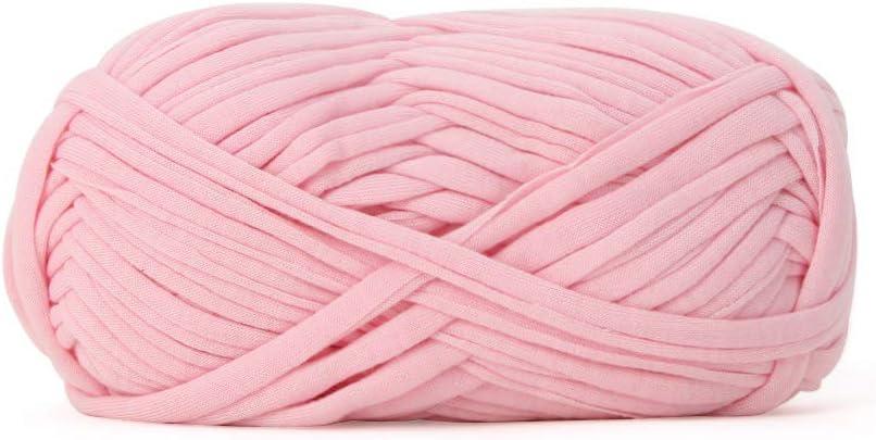 bigdispawl Fil /à Tricoter en Tissu pour Tissu projets de Crochet Coussins paniers 999 g t-Shirt pelote de Laine de Coton pour couvertures