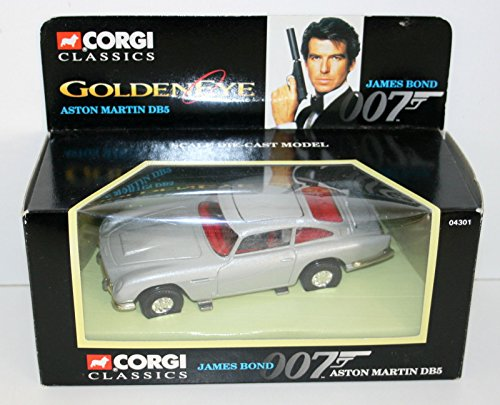 Corgi JAMES BOND 007 ASTON MARTIN DB5 Goldeneye Diecast Corgi James Bond Aston Martin