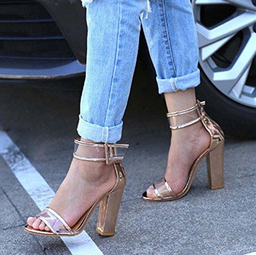 talón de Alto mujer Tacón zapatos Thirty seven Donyyyy wgOqFn4x8g