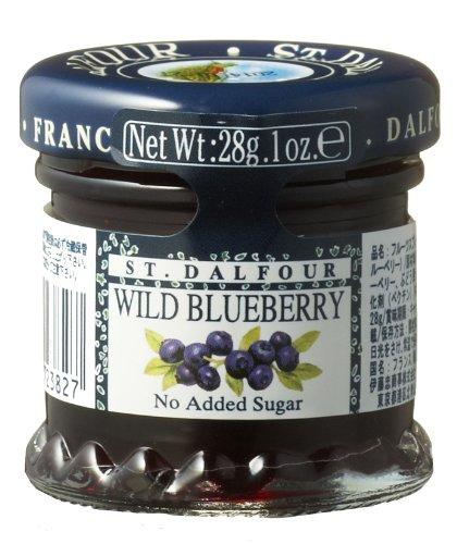 28gX48 or San Darufo all fruit spread blueberry by St Dalfour (San Darufo)