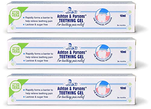 Price comparison product image Ashton & Parsons NEW Teething Gel 10ml (3 pack)