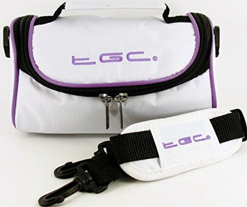 para White Cool with Electric Hombro Red al Crimson Purple Trims TGC Bolso Trims Cool Mujer White With Blanco w80ntSx