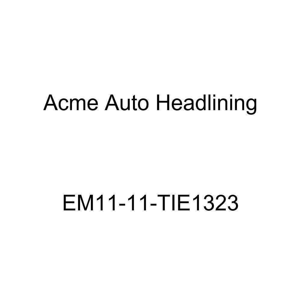 Acme Auto Headlining EM11-11-TIE1323 Light Blue Replacement Headliner 1940 Buick Limited Series 80 4 Door Sedan - 7 Bow