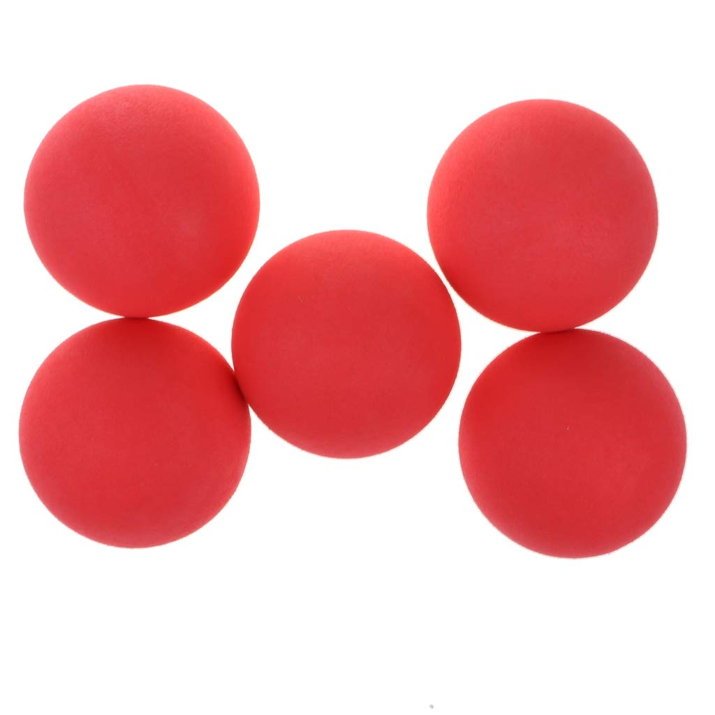 7 Farben Auswahl Fenteer 5pcs Schaumstoffball Softball Spielball Ball Spielzeug f/ür Kinder Spielzelt zum Bef/üllen rot